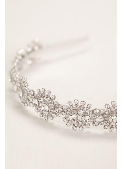 Pear Shaped Crystal Headband - Wedding Accessories