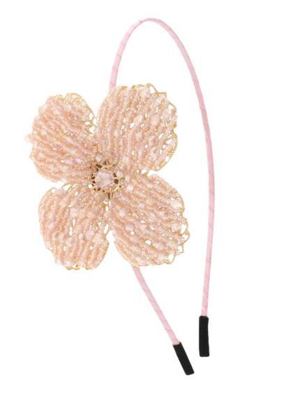 Filigree Beaded Flower Headband H28210