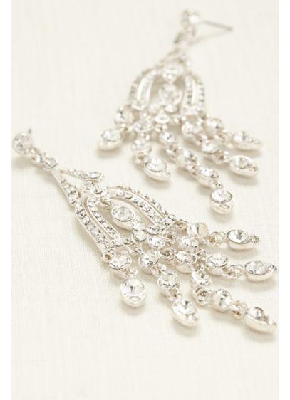 Large Chandelier Earrings - Wedding Accessories