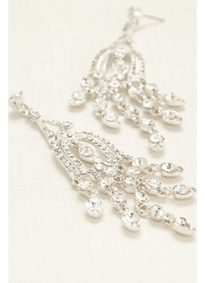 Large Chandelier Earrings - Wedding Accessories