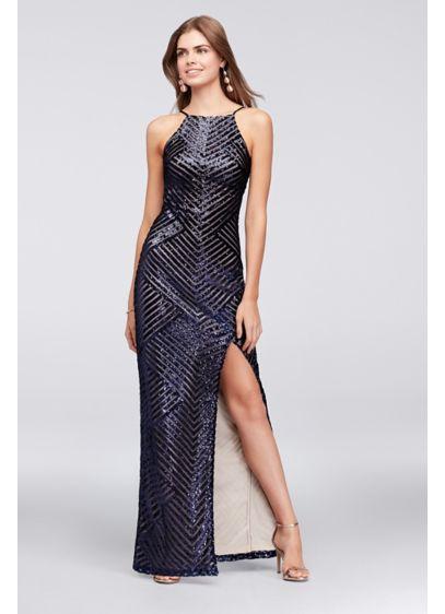 Long Blue Soft & Flowy Teeze Me Bridesmaid Dress