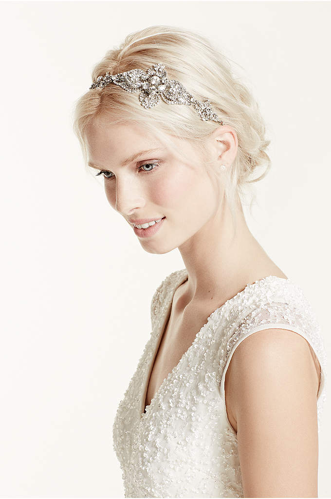 Large Casted Flower Headband - This accessory is a must-have for your headpiece