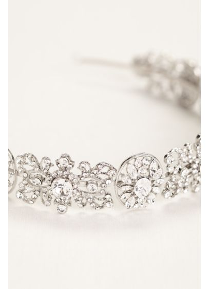 Opulent Crystal Headband - Wedding Accessories