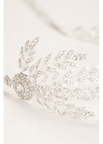 Crystal Chain Fringe Headband H9067