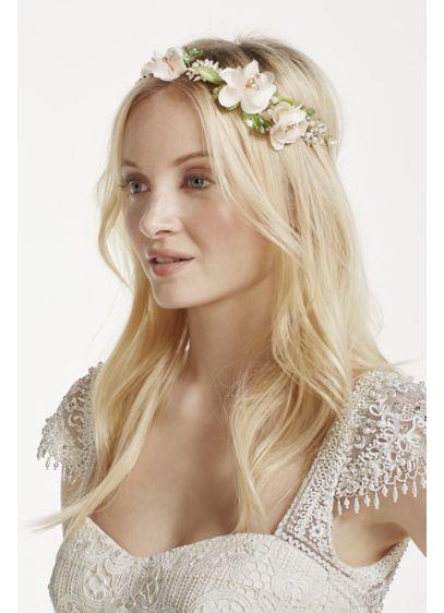 Soft Tieback Flower Headband - Wedding Accessories