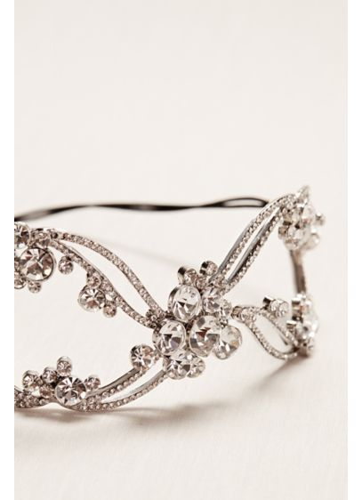 Scattered Solitaire Headband - Wedding Accessories
