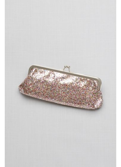 Allover Glitter Frame Clutch - Wedding Accessories