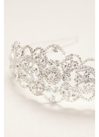Bold Crystal Headband - Wedding Accessories