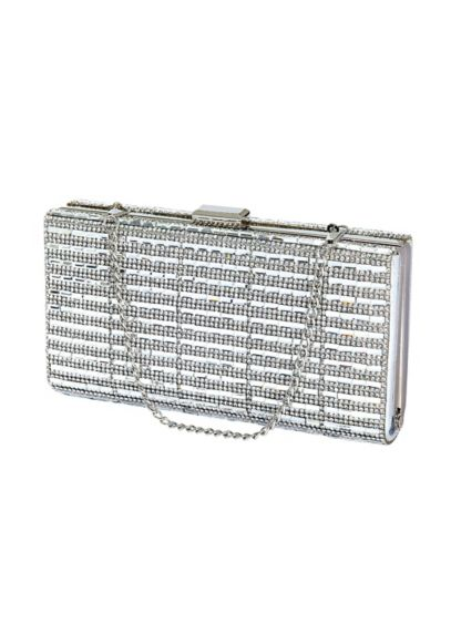 Emerald-Cut Crystal Minaudiere - Wedding Accessories