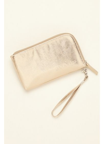 Metallic Wristlet with USB Charger - Wedding Accessories