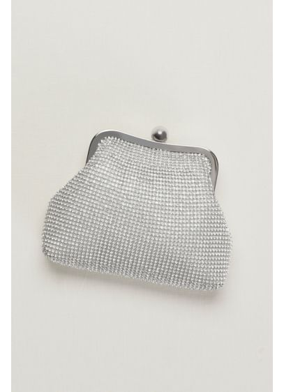 Crystal Mesh Coin Purse - Wedding Accessories