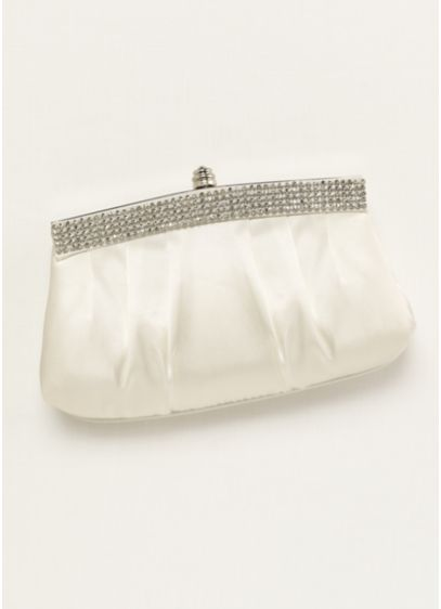 Crystal Trimmed Clutch - Wedding Accessories