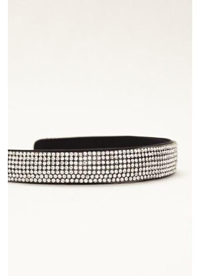 All Over Rhinestone Embellished Headband - Wedding Accessories