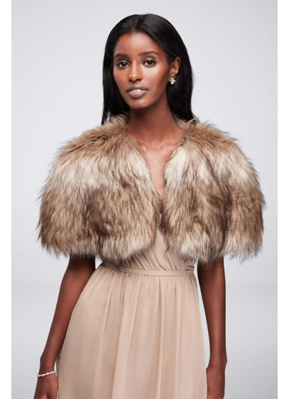 Faux Fur Shrug - Wedding Accessories