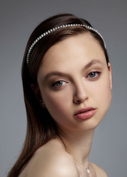 Thin Rhinestone Headband HG0034