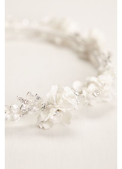 Floral and Vine Halo - Wedding Accessories