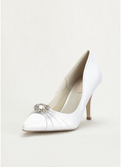 Pink Paradox White (Pink Paradox London Pointed Toe Court Pump)