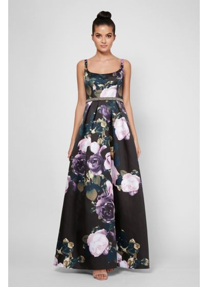 Long Black Structured Ignite Bridesmaid Dress