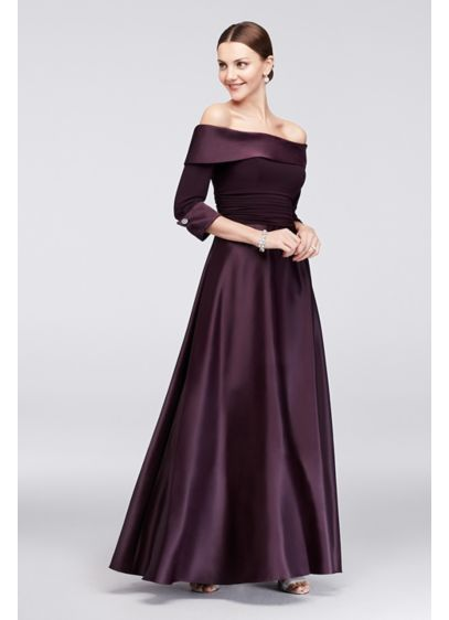 Long Ballgown Off the Shoulder Mother and Special Guest Dress - Jessica Howard
