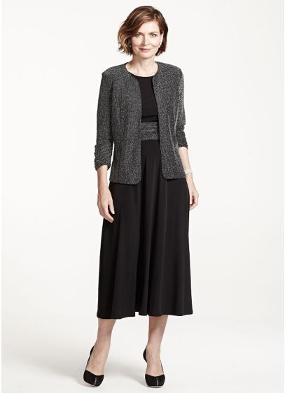 Short A-Line Jacket Cocktail and Party Dress - Jessica Howard