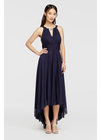 High Low A-Line Halter Formal Dresses Dress - Jessica Howard
