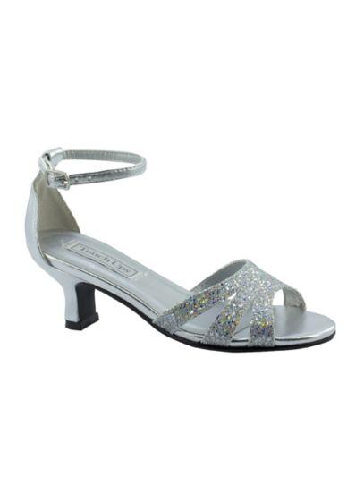 Jojo Glitter Flower Girl Sandal by Touch Ups - Wedding Accessories