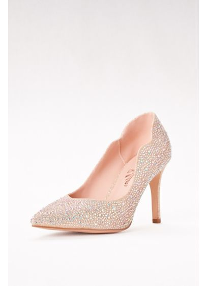 Embellished Pointed Toe Pumps - Wedding Accessories