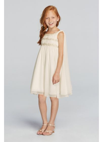Short A-Line Tank Communion Dress - Wonder by Jenny Packham
