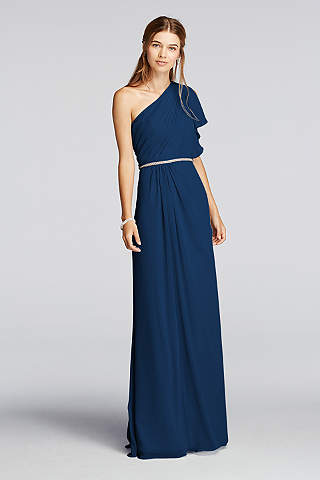 Marine Bridesmaid Dresses & Gowns | David's Bridal