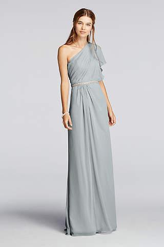 Metallic Silver Bridesmaid Dresses | David's Bridal