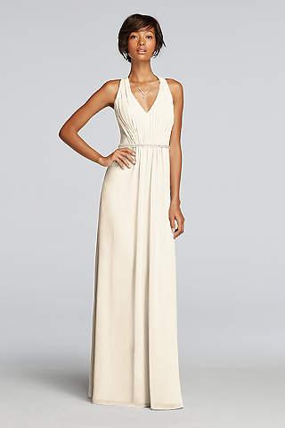 Soft Flowy Wonder By Jenny Packham Long Bridesmaid Dress