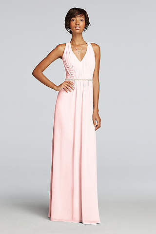 Blush Bridesmaid Dresses (Long & Short Lengths) | David's Bridal