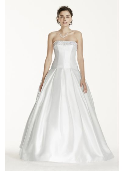 Long Ballgown Formal Wedding Dress - Jewel