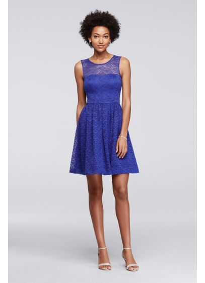 Short A-Line Tank Cocktail and Party Dress - Jessica Simpson