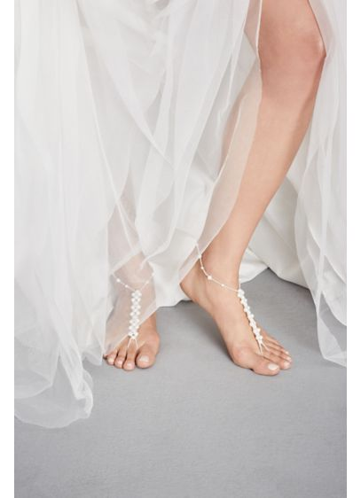 Ivory (Pearl Stretch Foot Jewelry)
