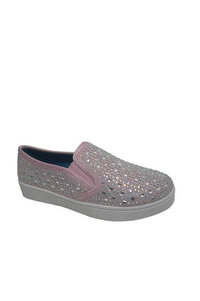 Girls Embellished Slip-On Sneaker - Cute and comfortable, your little darling will love