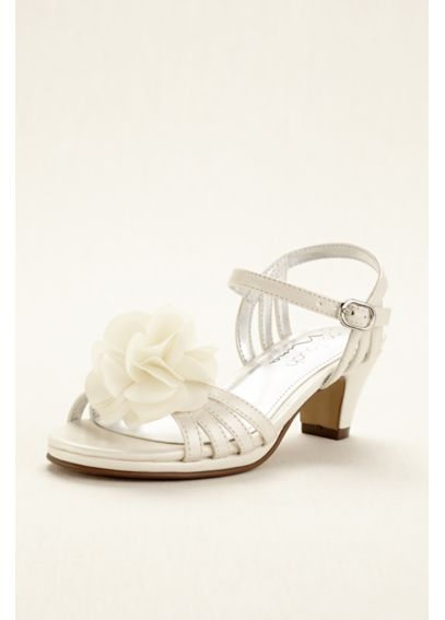 Touch of Nina Flower Girl Sandal with Flowers KALEENA