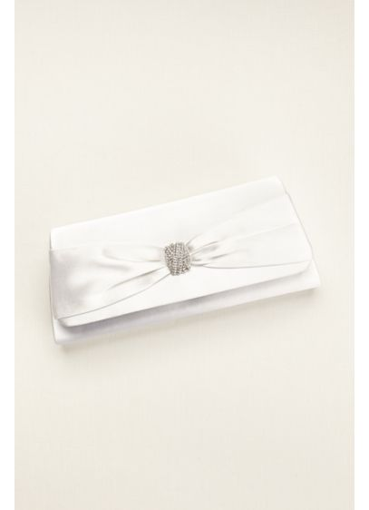 Benjamin Walk Fold Over Dyeable Clutch - Wedding Accessories