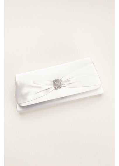 Benjamin Walk Fold Over Dyeable Clutch KNOT