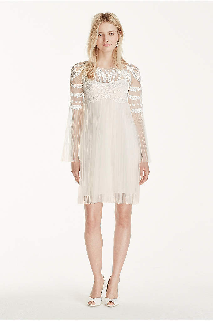 Short Tulle Skirt with Long Sleeves Dress - This unique dress is a must have for