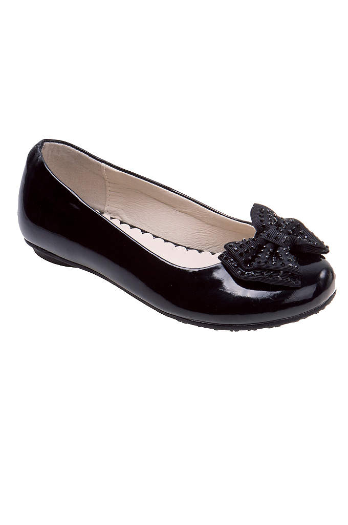 Cassandra Ballet Flower Girl Flat - Keep her feet cute and comfortable in these