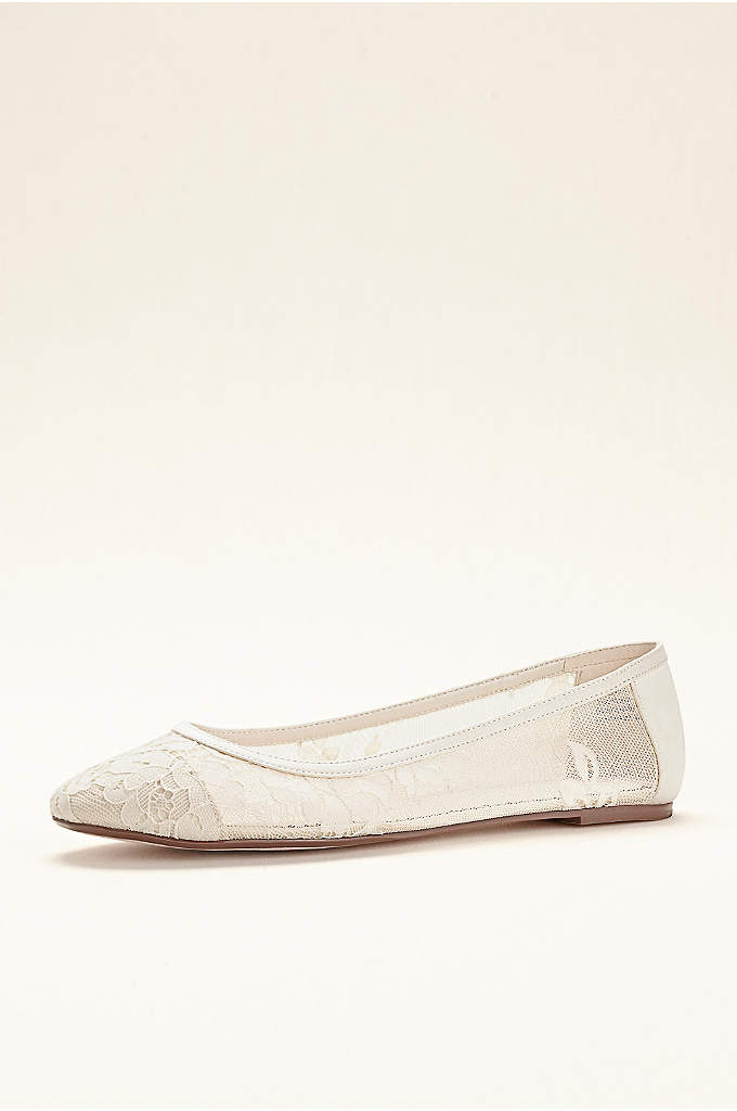 Melissa Sweet Lace Ballet Flat - Delicate lace adds a romantic touch to this