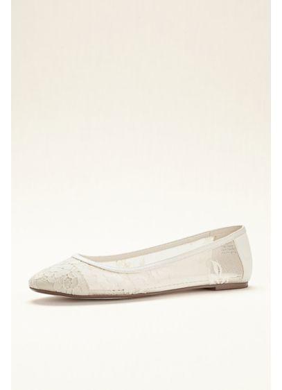 Melissa Sweet Ivory (Melissa Sweet Lace Ballet Flat)