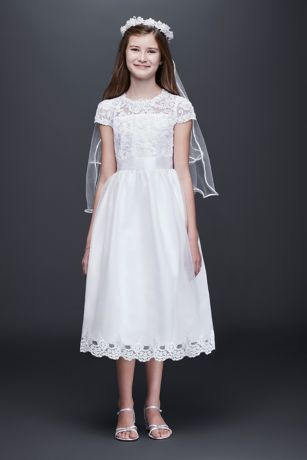 Color quartz cotton white dresses
