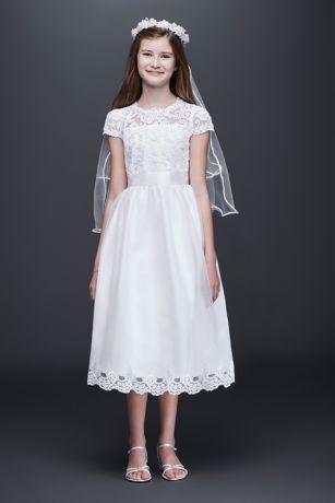Color quartz cotton white dresses
