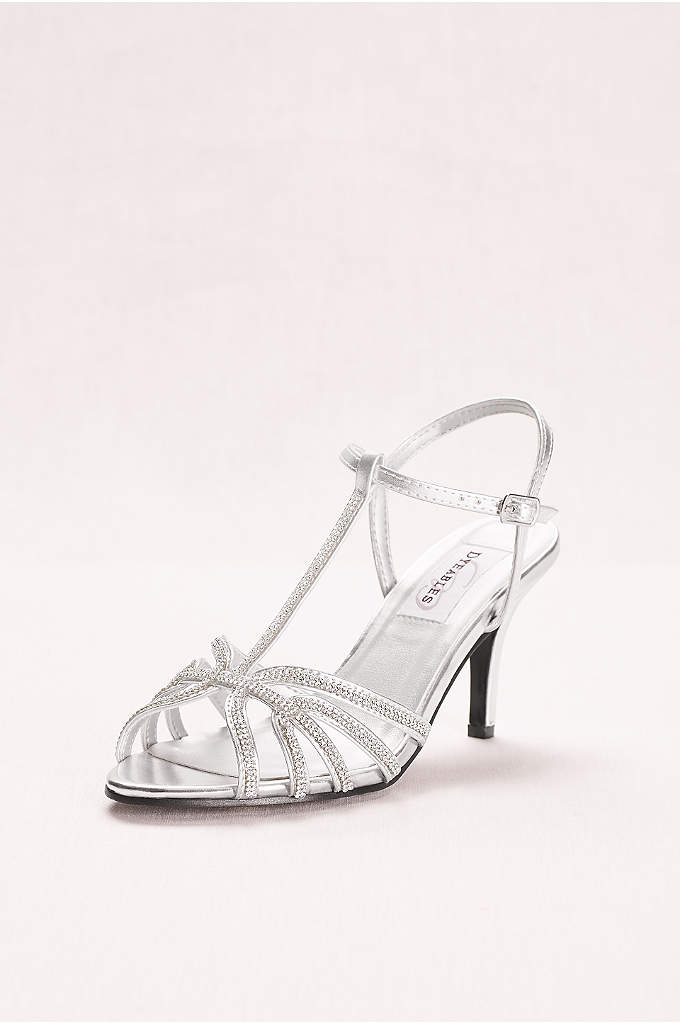 Touch Ups Lexi Strappy Sandal - Lexi is a t-strap sandal with a manageable