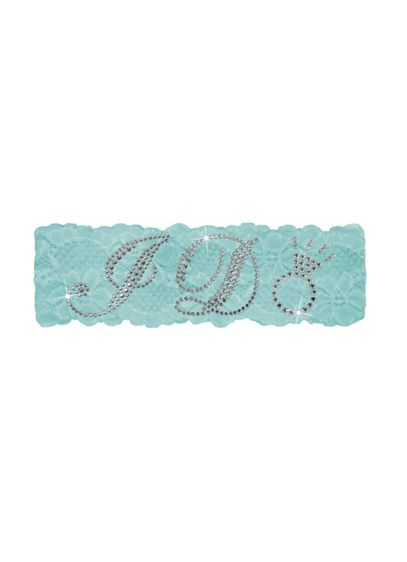 Sparkling I Do Lace Garter - Wedding Gifts & Decorations