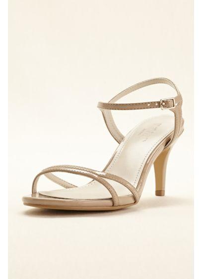 David's Bridal Red (Patent Mid Heel Sandal)