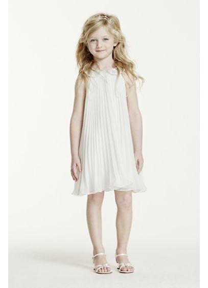 Short A-Line Halter Dress -