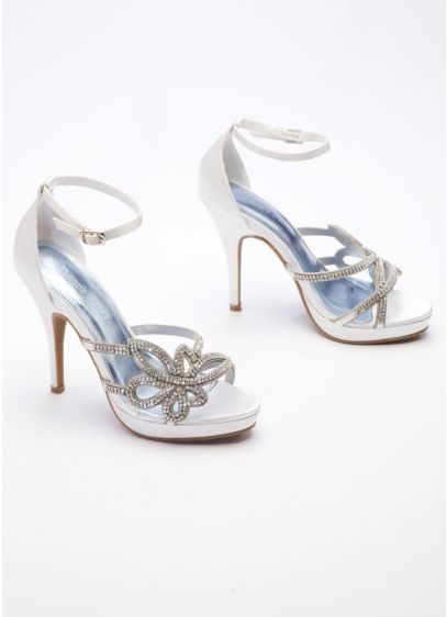 Ivory (High Heel Sandal with Chain)